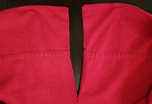 Red Sewn Edge Arm 2